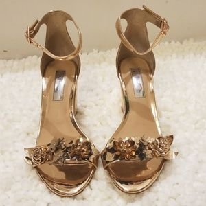 INC International Concepts Rose Gold Heels- 5.5M